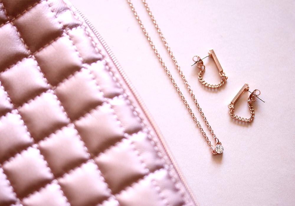 kristin perry bar chain earrings