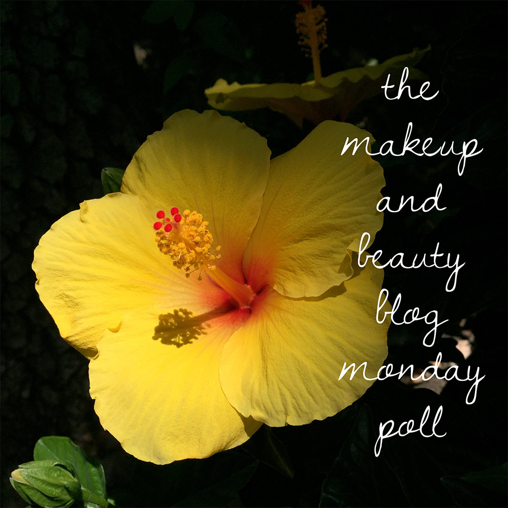 makeup and beauty blog monday poll