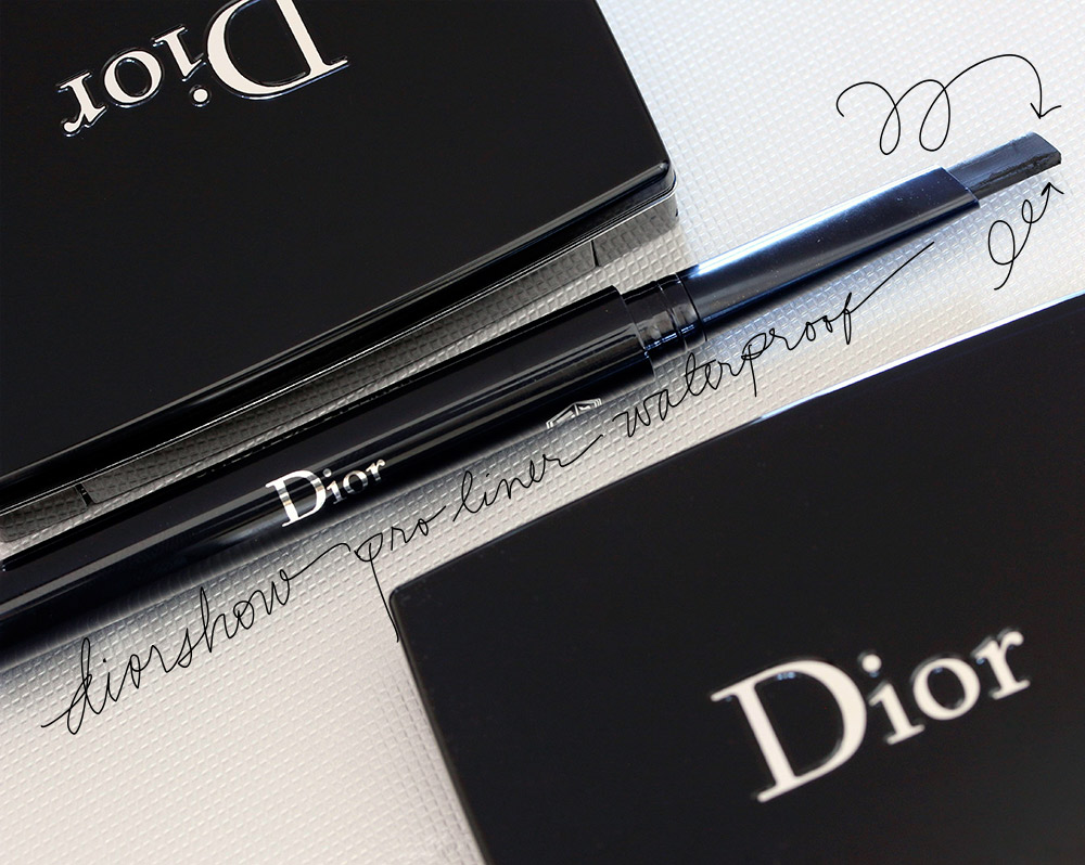 Dior Diorshow Pro Liner Waterproof in Backstage Black #092 ($32)