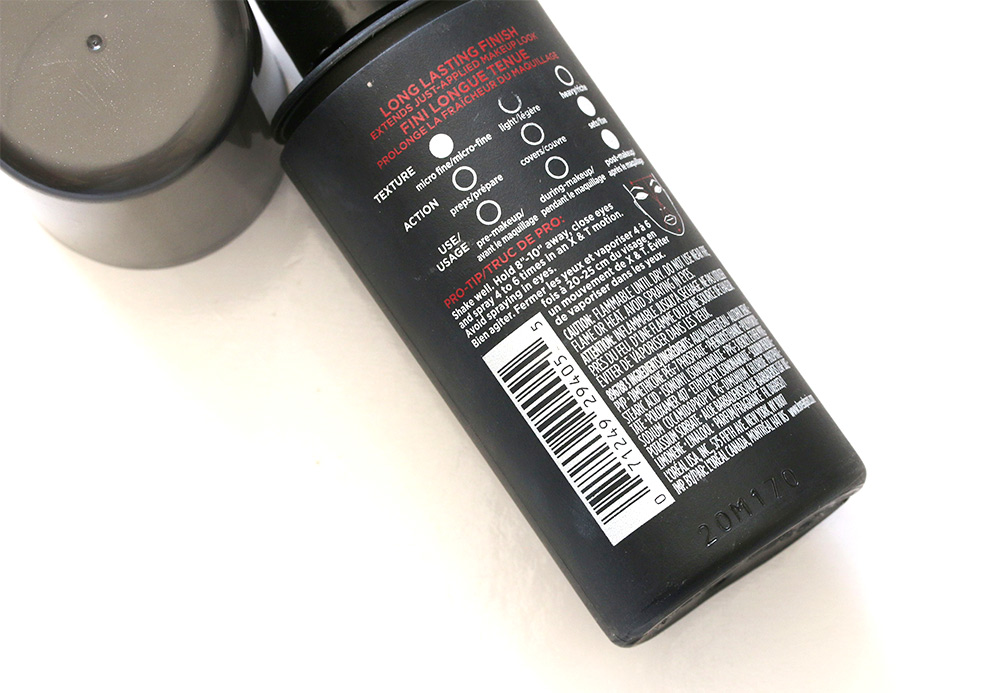 loreal infallible setting spray