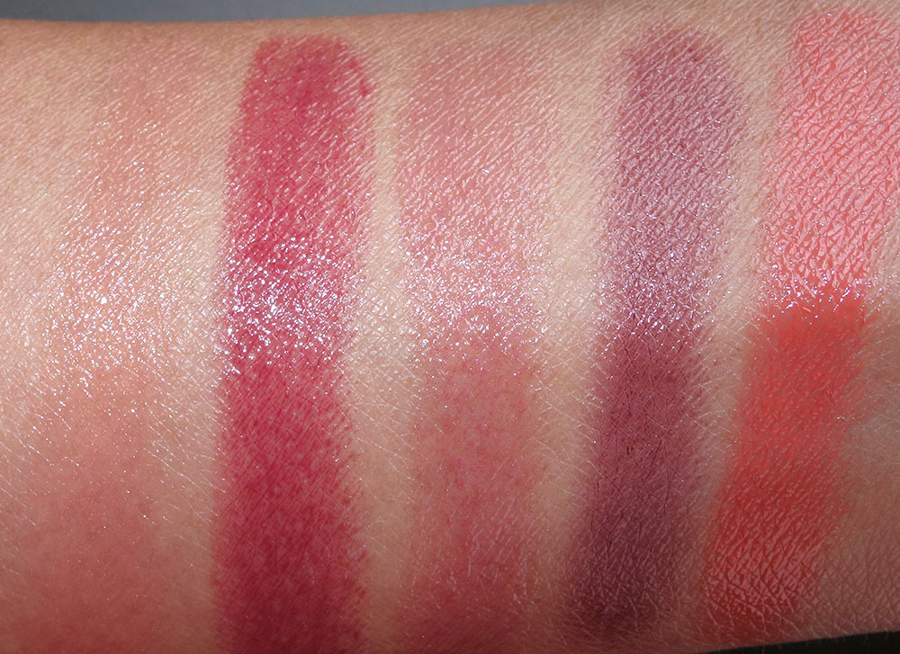 mac patentpolish lip pencil swatchesh 3