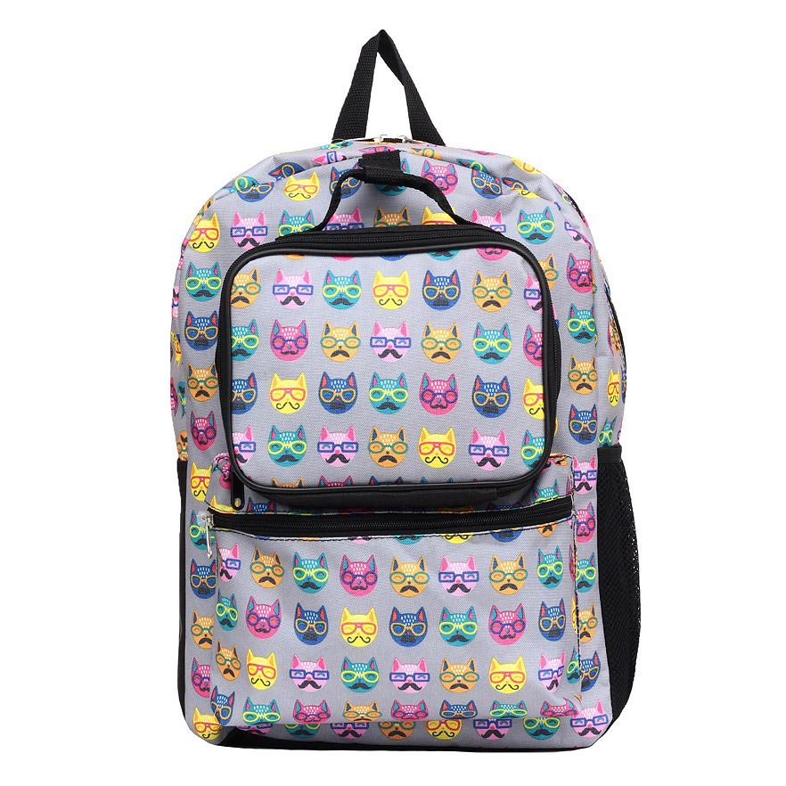 8-cat-backpack-lunch-bag-set