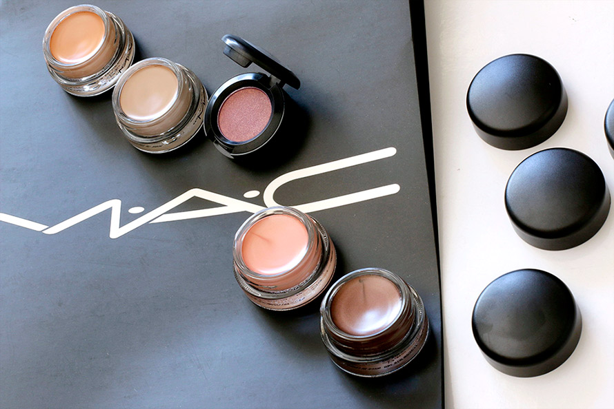 mac paint pot and trax
