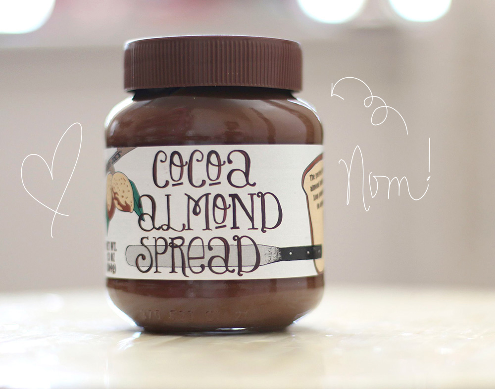 trader joes cocoa almond spread