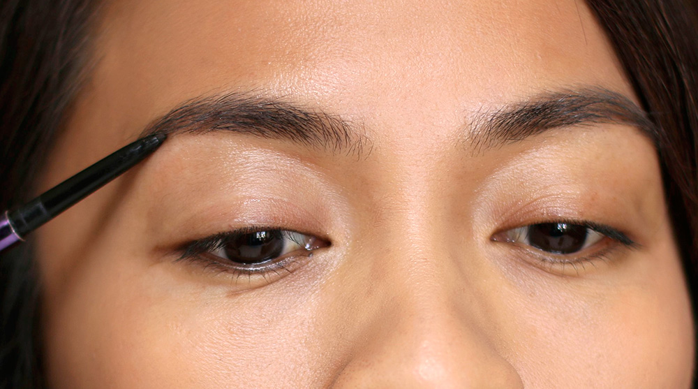 10 minute smoky eye brows