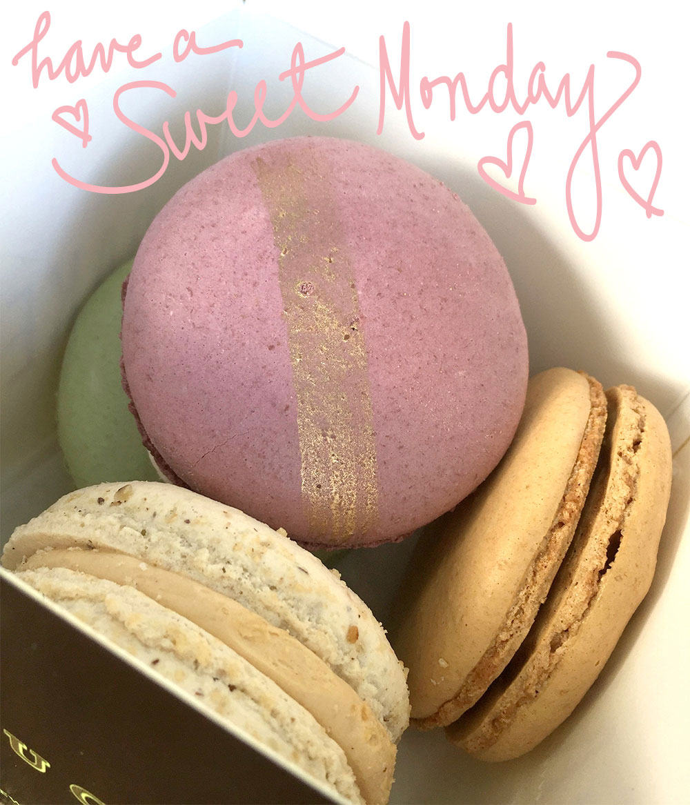 have a sweet day macarons