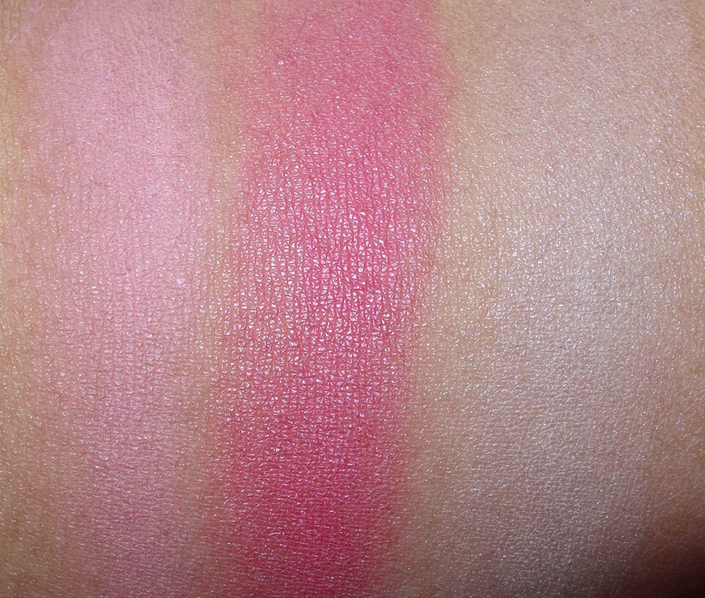 mac guo pei swatches blush beauty powder