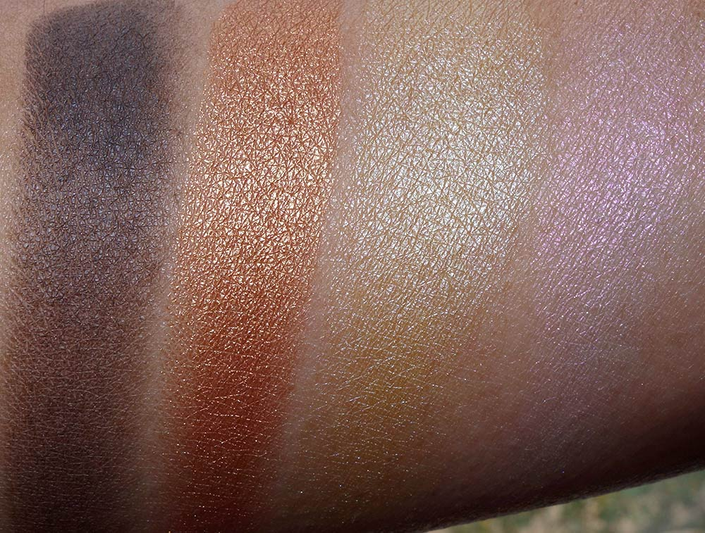 mac guo pei swatches morning light
