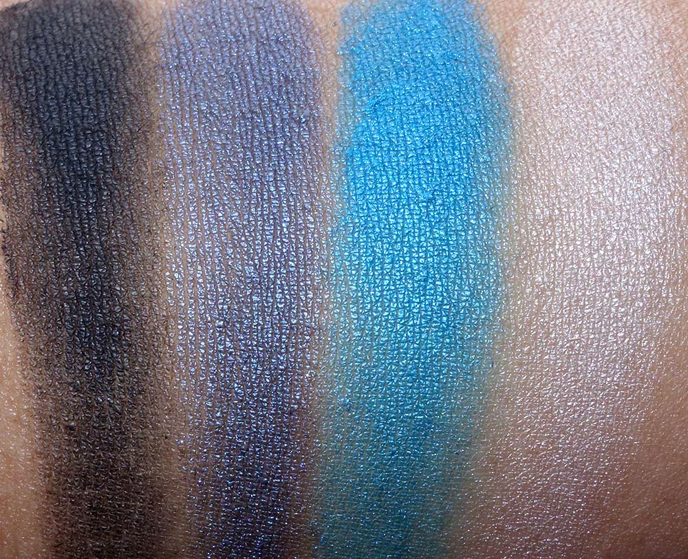 mac guo pei swatches night sky