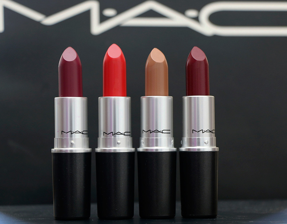 mac macnificent me lipsticks
