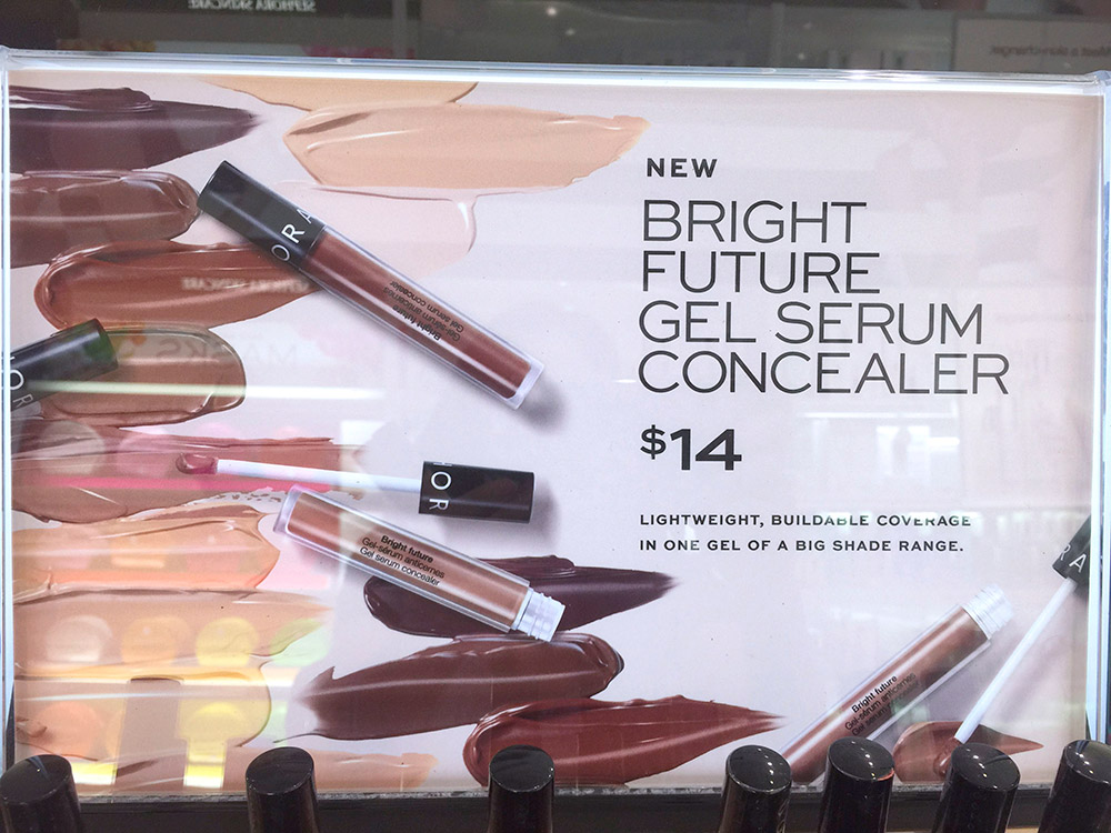 sephora bright future gel serum concealer