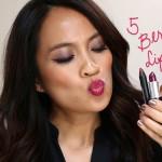 5 berry lipsticks for fall