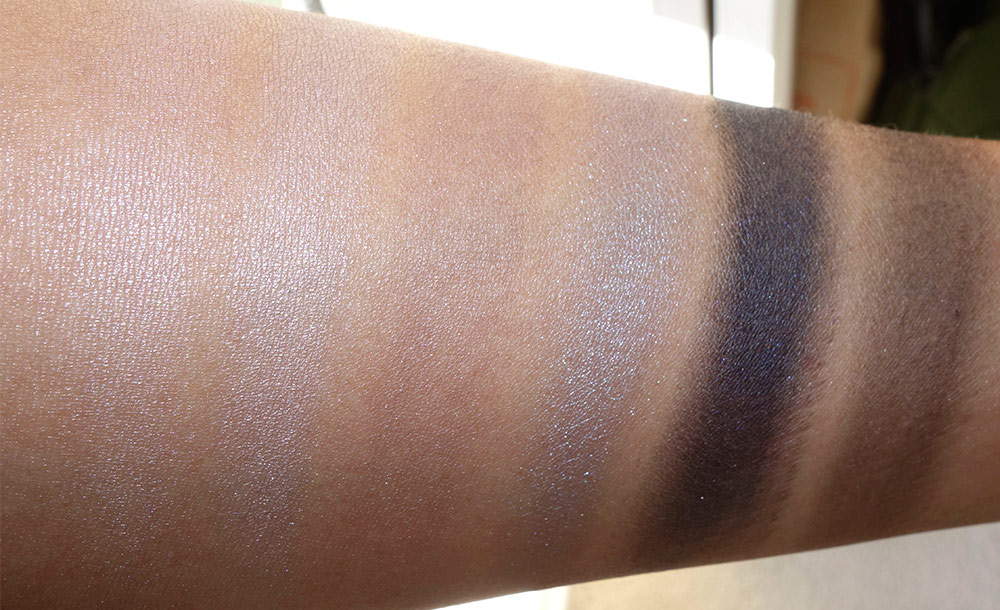 mac enchanted eve eyes navy swatches