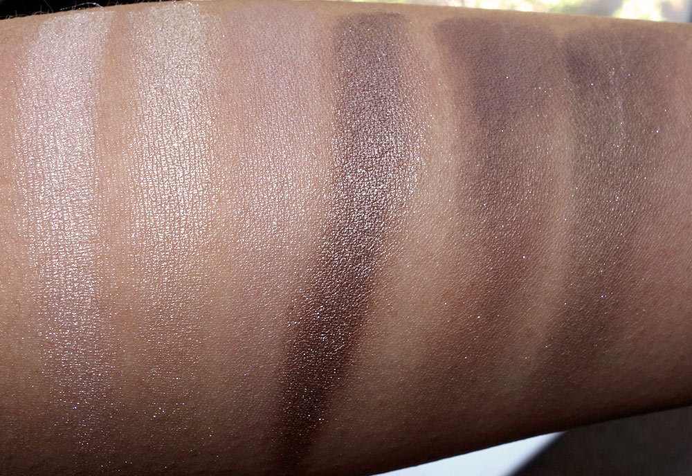 mac enchanted eve eyes warm swatches