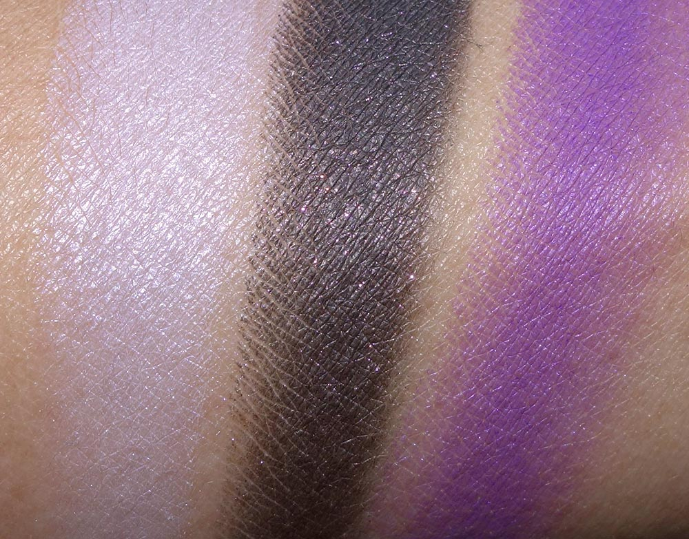 make up for ever 15 artist shadow palette swatches