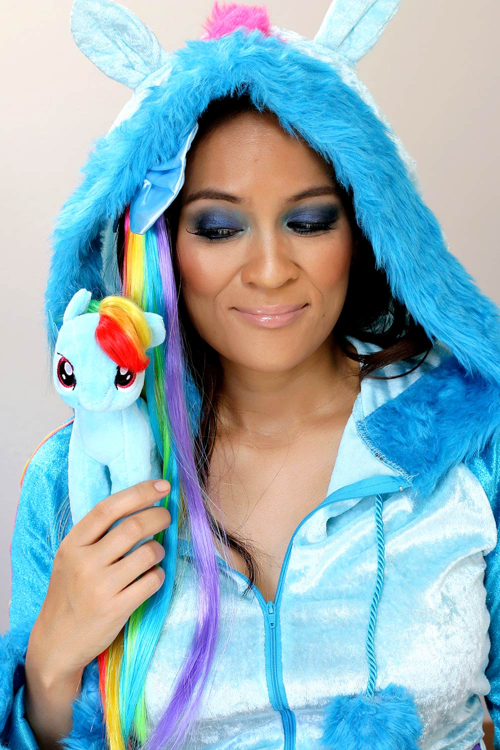 rainbow dash k down