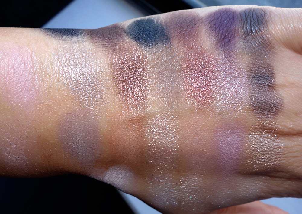 tarte light of the party swatches 2