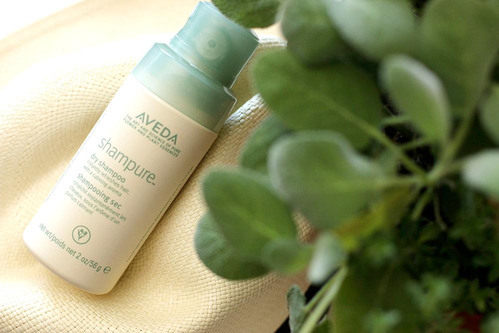 aveda shampure dry shampoo review