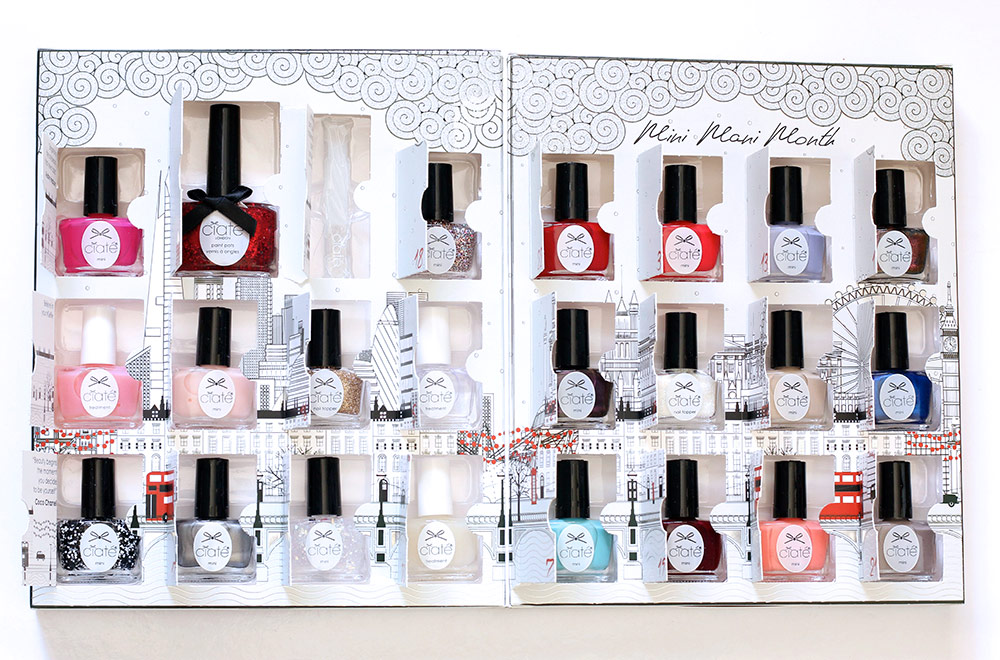 Fantastic Mini Mani Manor Nail Polish Advent Calendar Model - Nail ...