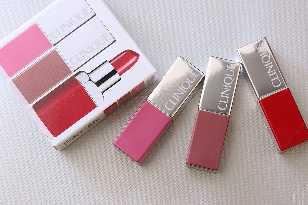 clinique travel exclusive pop lip colour