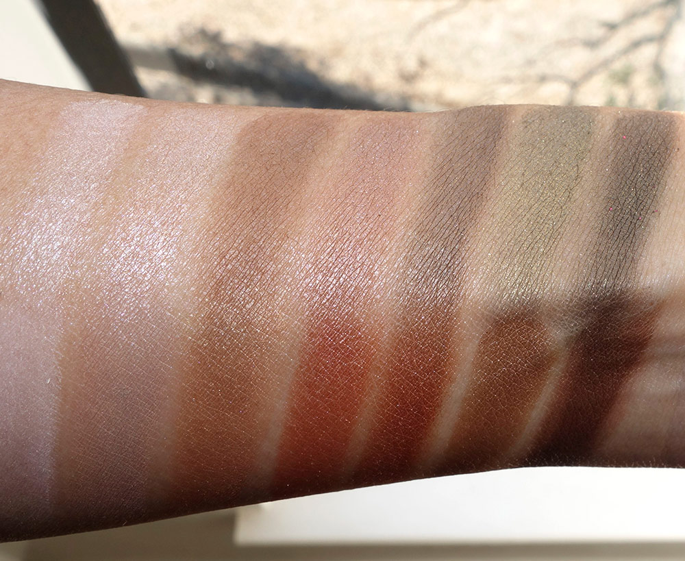 laura geller delectables delicious shades of nude wet swatches