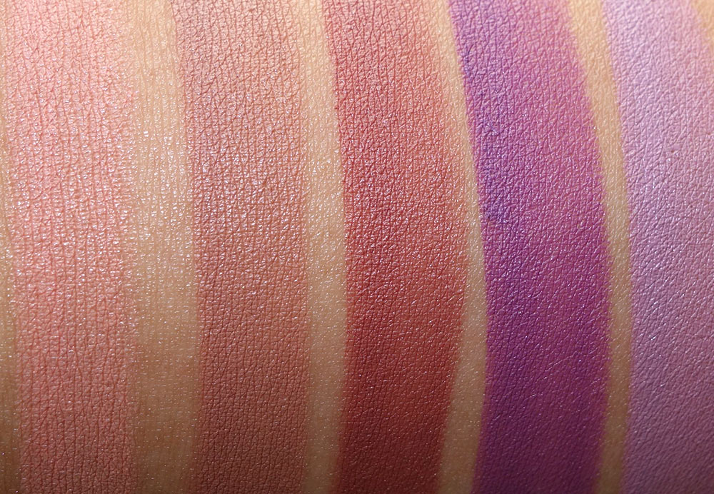 lorac 20th anniversary collection swatches