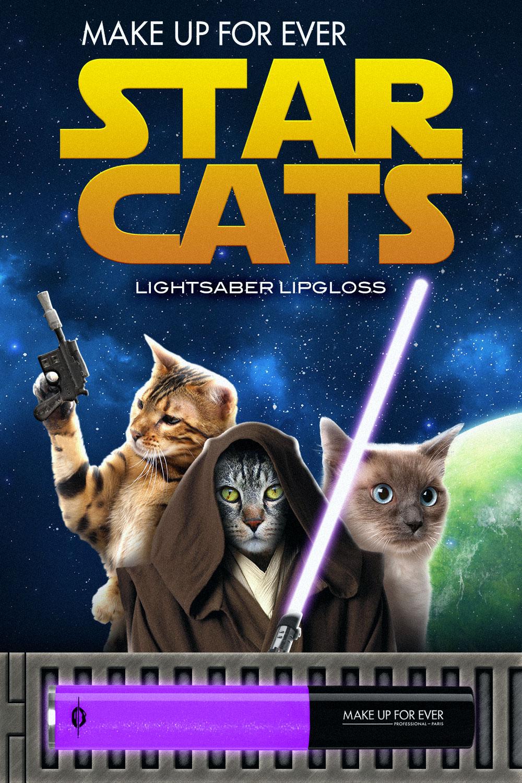 Star Cats Lightsaber Lipgloss