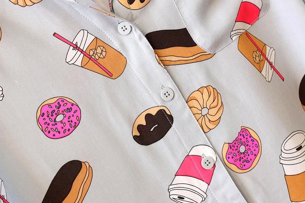 target doughnut pajamas