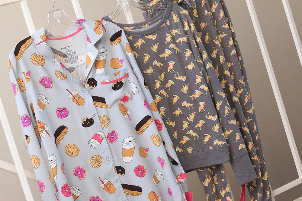target doughnut pizza pajamas 2