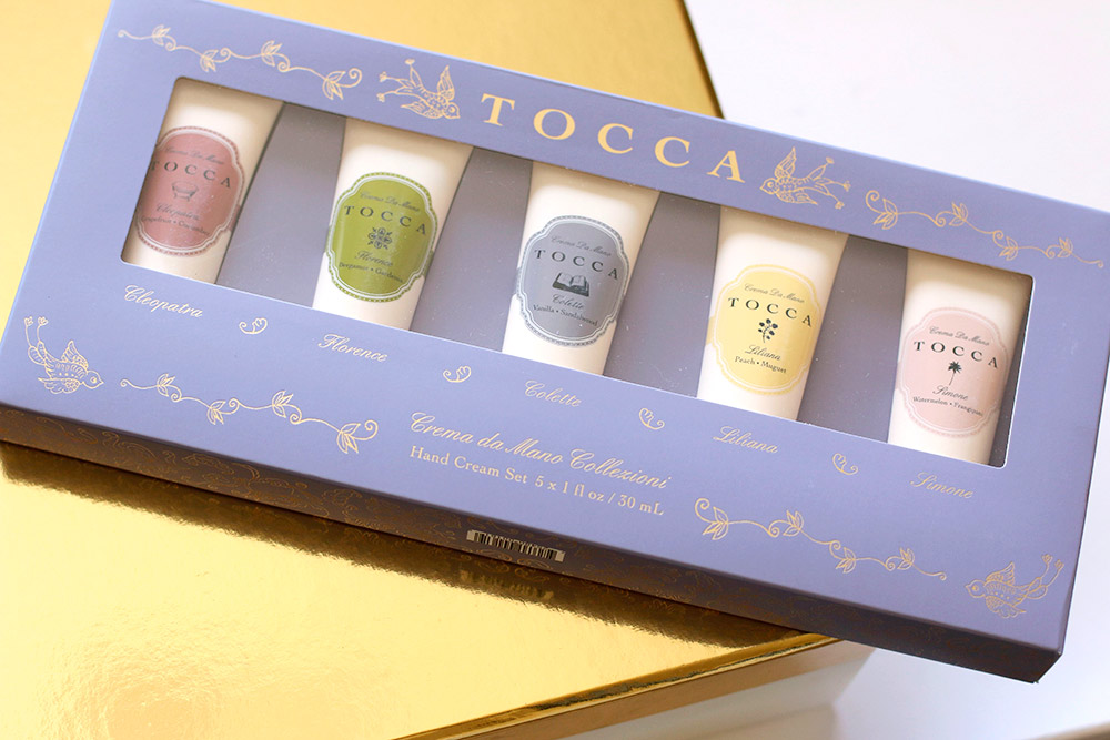 tocca hand cream set box