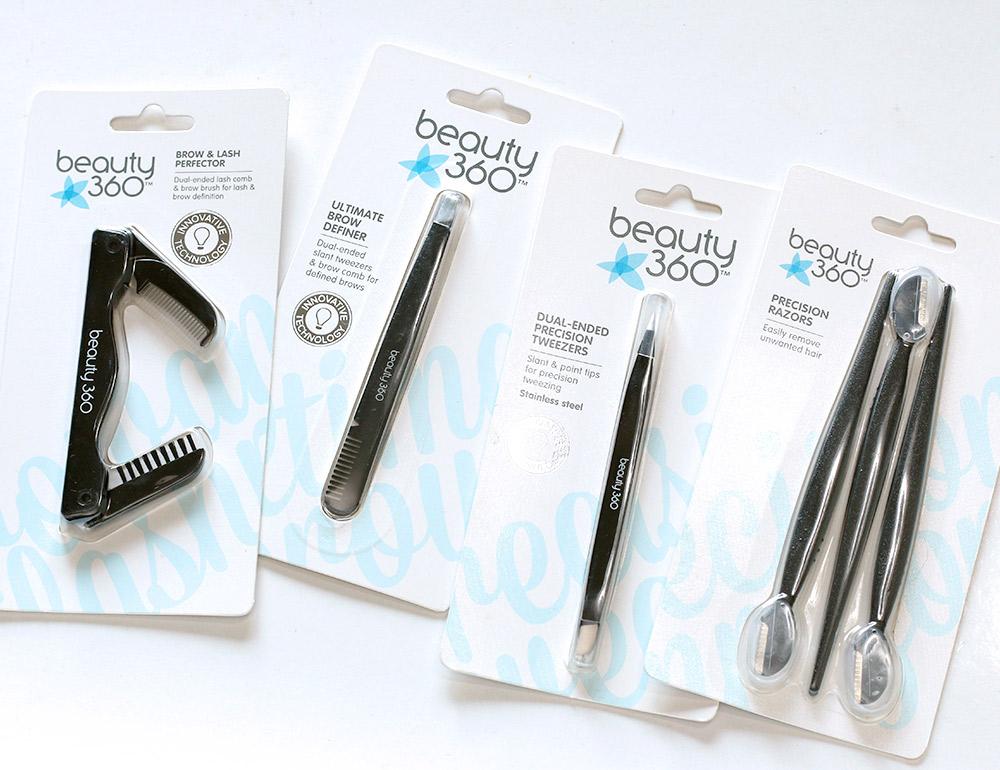 beauty 360 brow tools