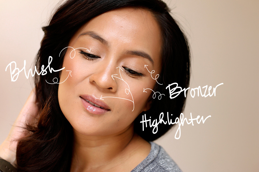 Travel tip time you can use your bronzer blush and highlighter bronzer blush highlighter k down ccuart Images