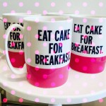My sentiments exactly! (Mug by Kate Spade)