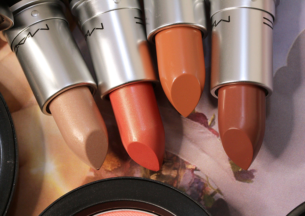 mac faerie whispers lipsticks