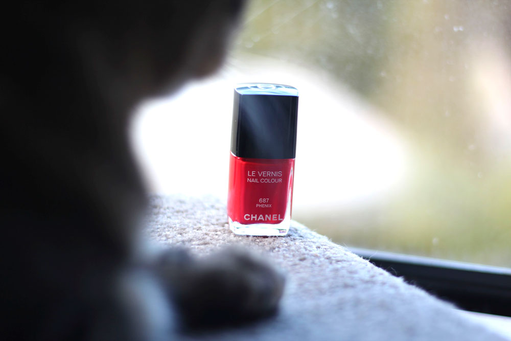 Chanel Le Vernis Nail Colour in 687 Phenix from the Chanel Holiday 2014 Collection