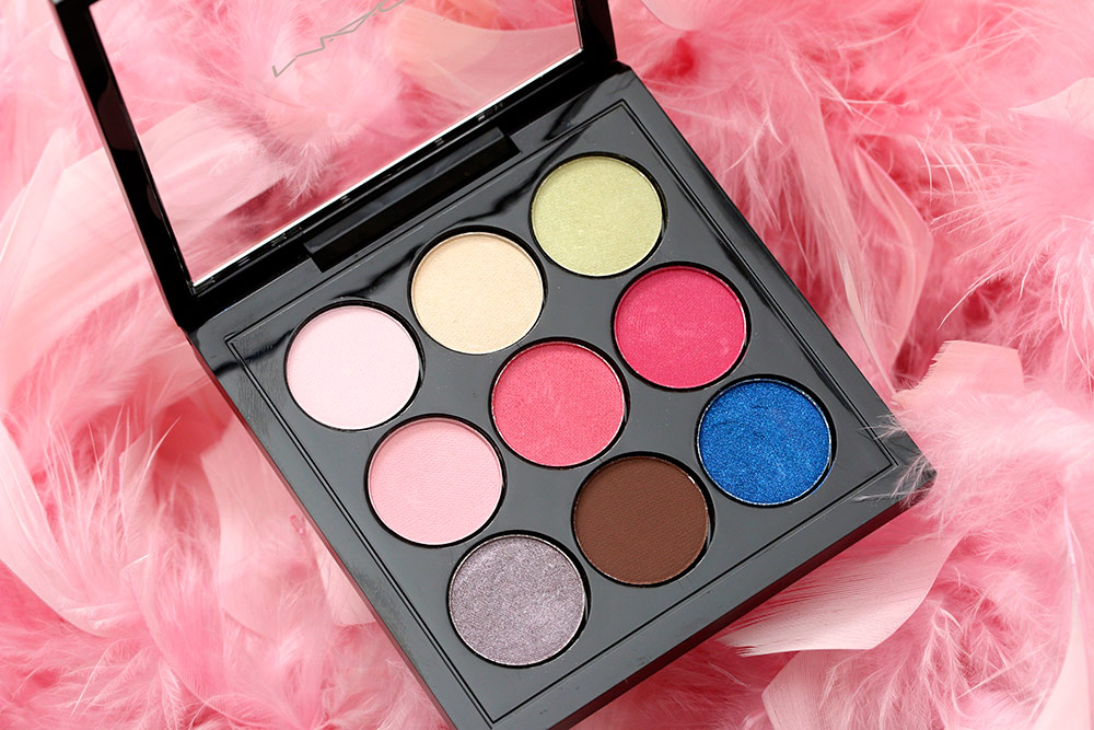 mac flamingo park eye shadow x9