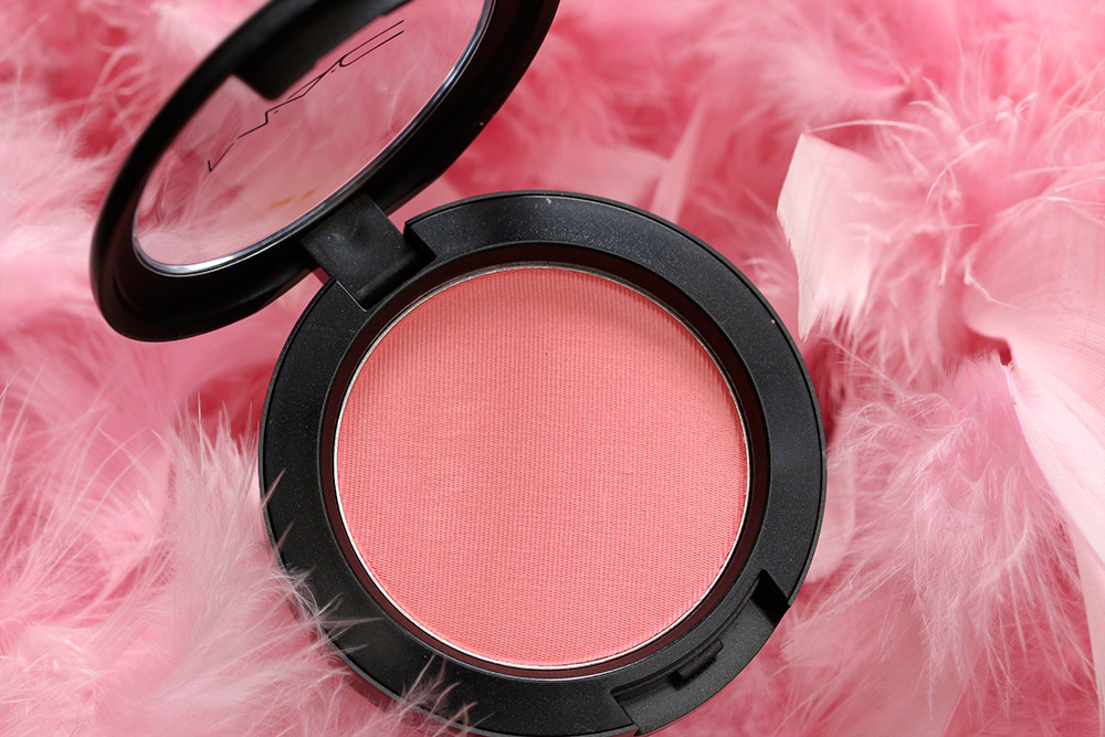 mac spring flock blush