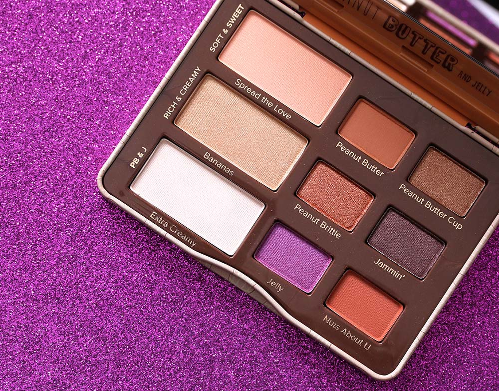 too faced peanut butter jelly palette 1