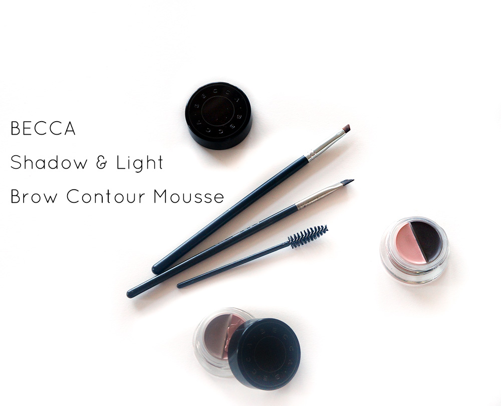 Becca Shadow & Light Brow Contour Mousse