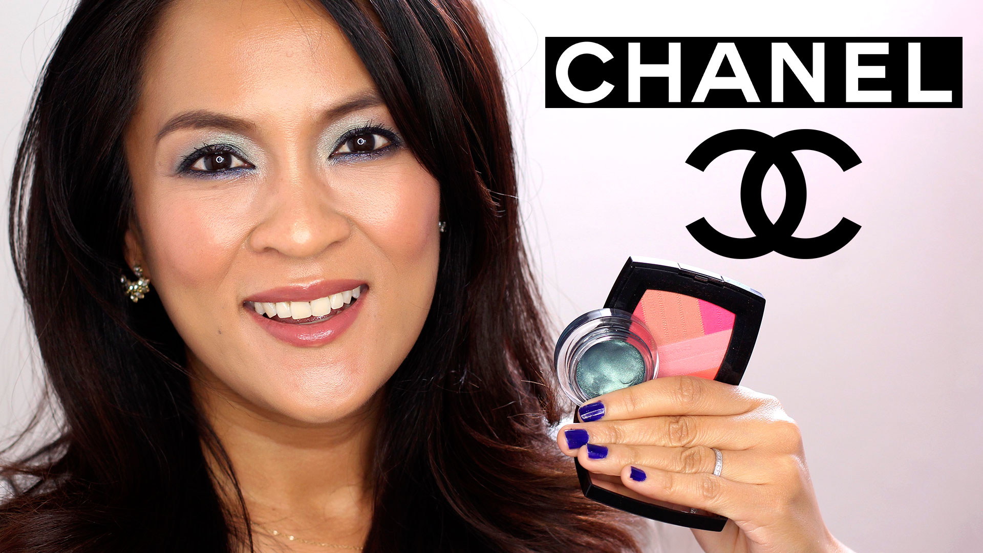 A shimmery green chanel spring 2016 makeup tutorial makeup and a shimmery green chanel spring 2016 makeup tutorial makeup and beauty blog baditri Images