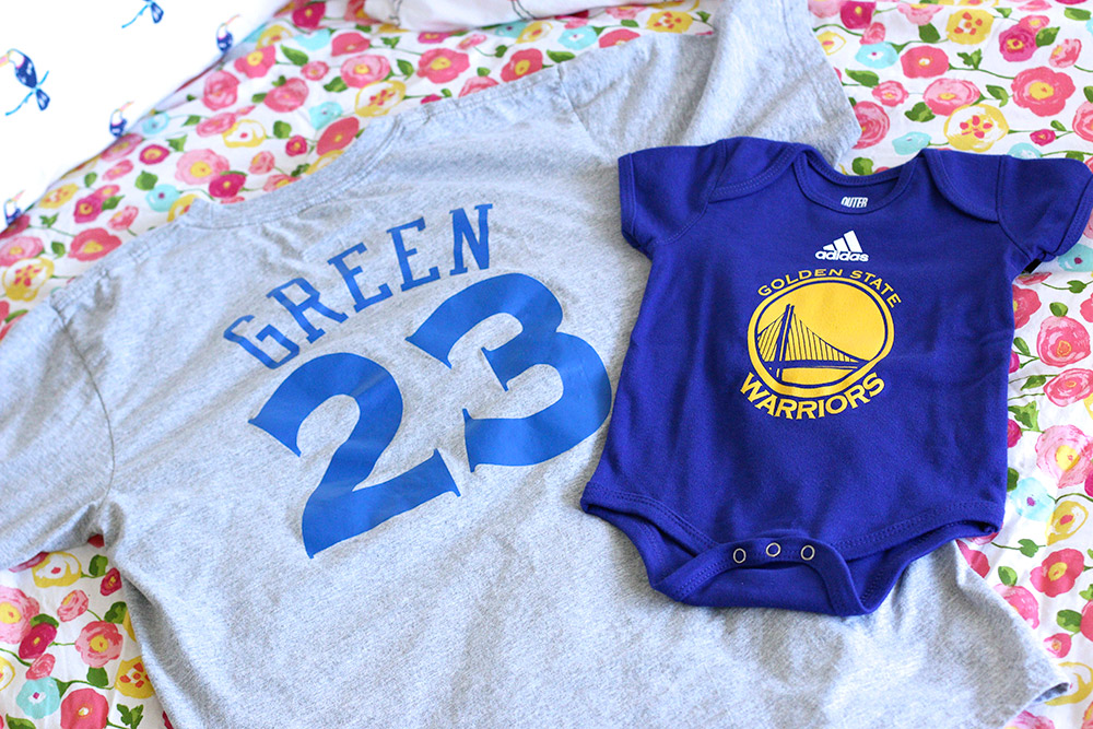 golden state warriors baby onesie 1