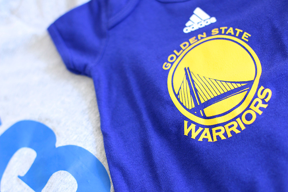 golden state warriors baby onesie 1000