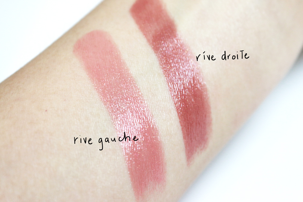laura mercier rive gauche rive droit lip parfait cream colourbalm paris in the rain
