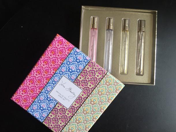 vera bradley, perfume, Eau de Toilette, perfume set,