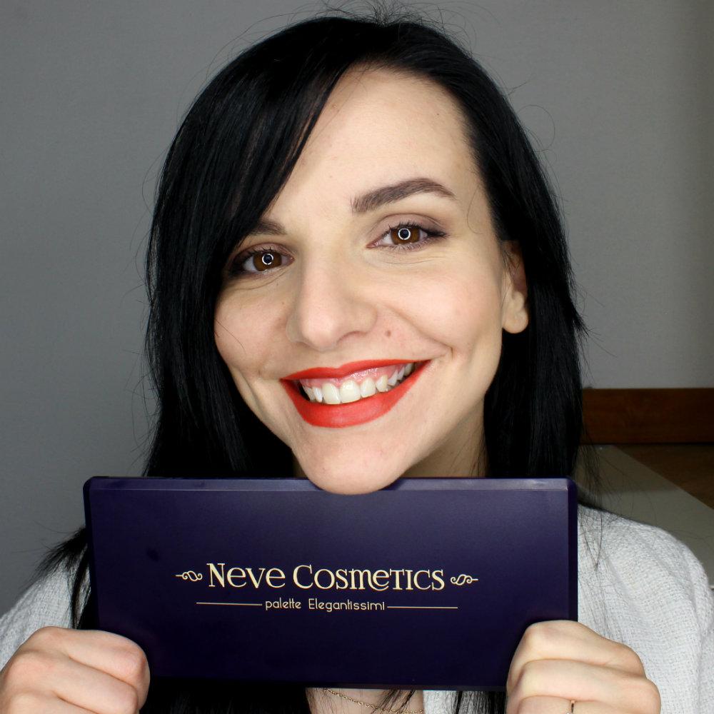 Neve Cosmetics Elegantissimi Eyeshadow Palette Italian Makeup