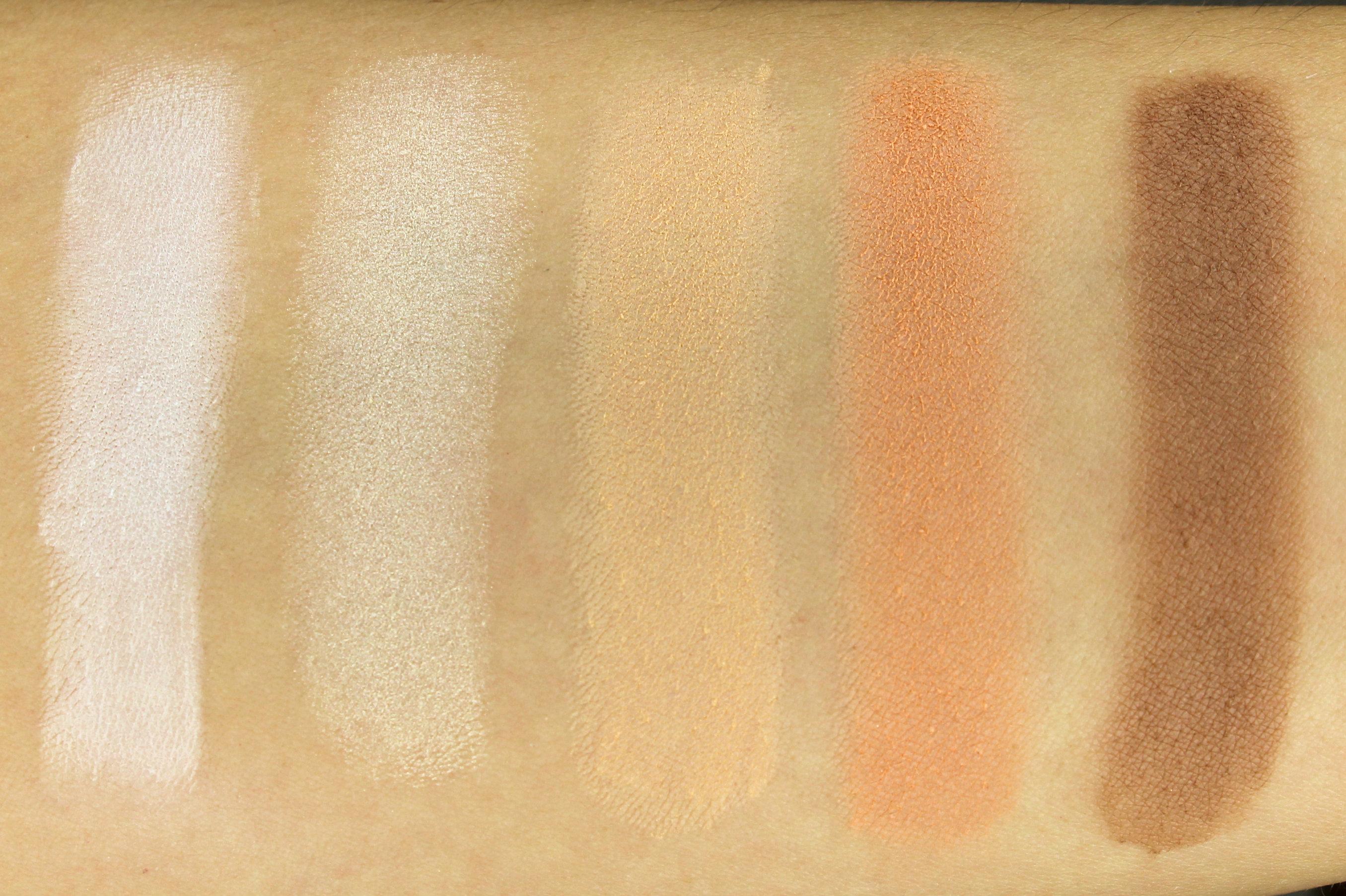 Neve Cosmetics Elegantissimi Eyeshadow Palette Swatches
