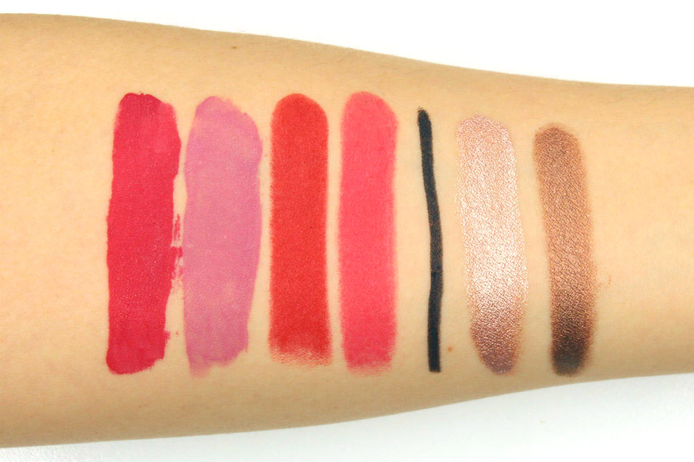 WYCON Cosmetics Swatches