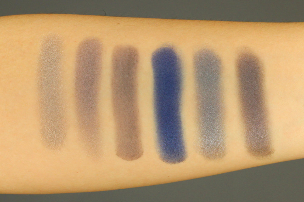 NABLA Eyeshadow Swatches