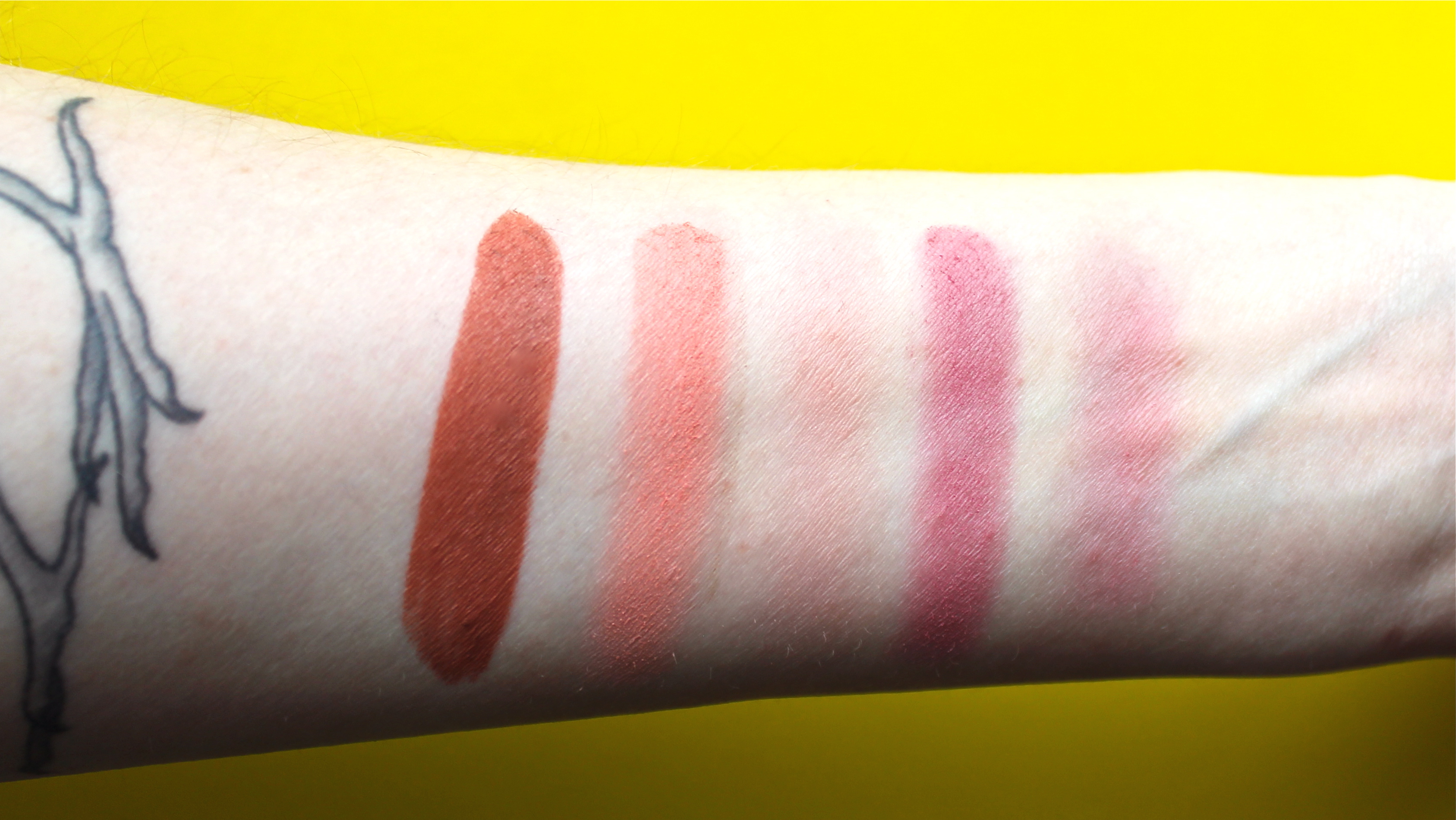 LORAC Color Source Blush and Alter Ego Lipstick