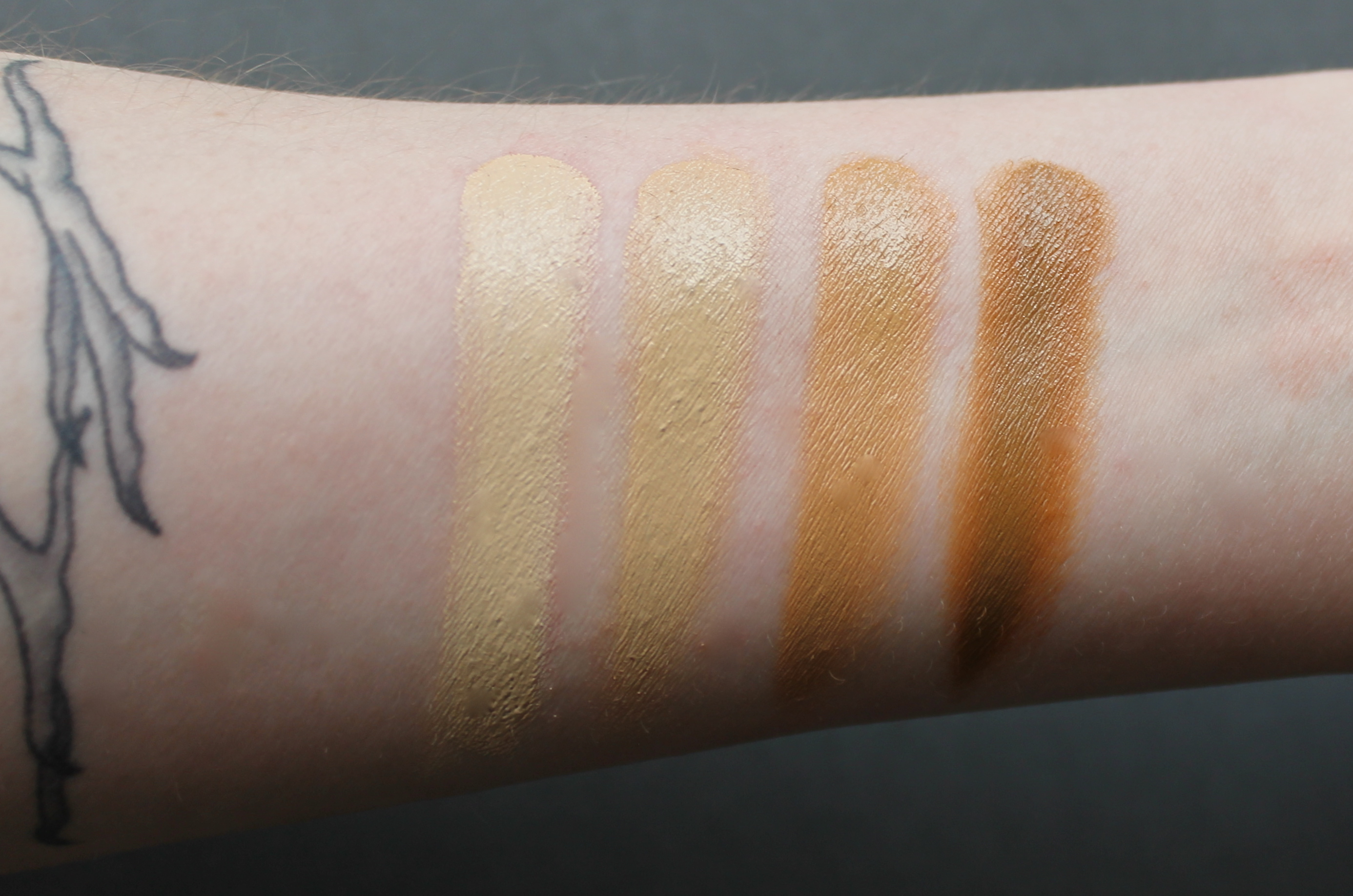 Becca Color Correctors and Ultimate Coverage Concealing Cream